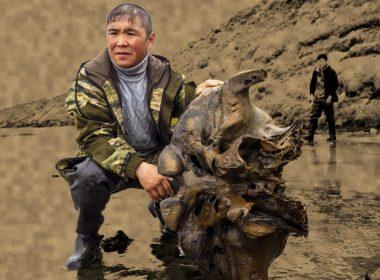 Mamut bien conservado con músculos intactos es hallado en lago de Siberia