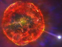 Supernova lanza una estrella muerta a través de la galaxia, sugiere un estudio