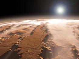 Antiguo Marte estaba cubierto de capas de hielo no de ríos, indica investigación