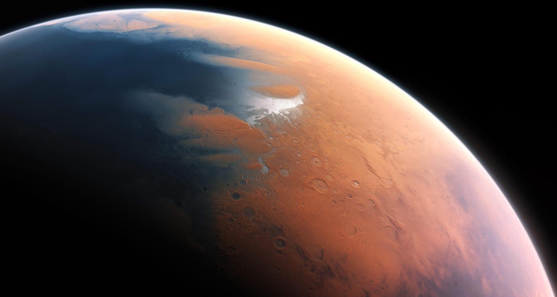 Antiguo Marte pudo haber tenido impresionantes tormentas torrenciales