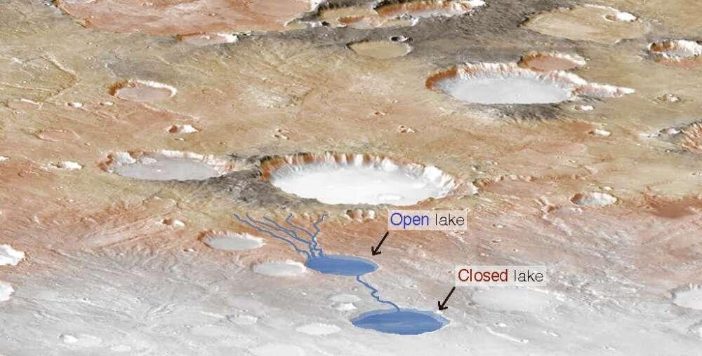 Antiguo Marte pudo haber tenido increíbles tormentas torrenciales