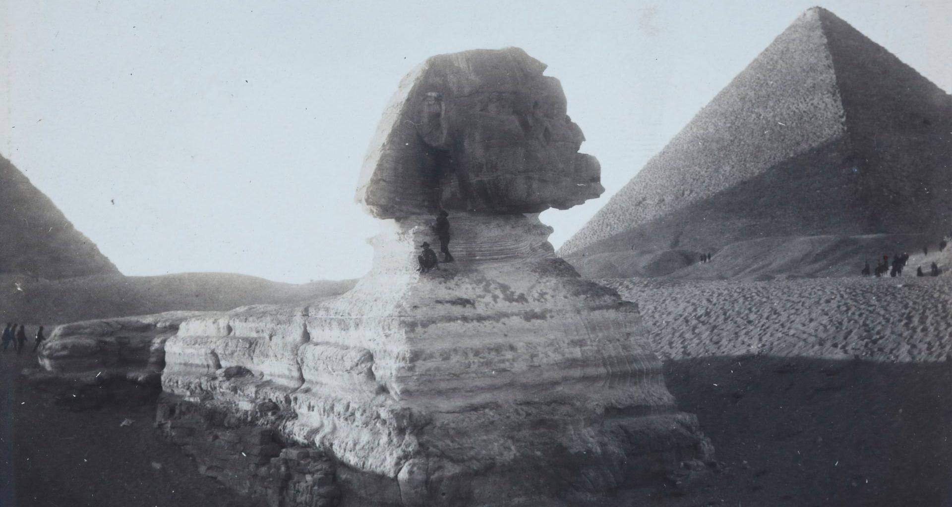 Las 10 fotografías antiguas y modernas más impresionantes de la Gran Esfinge