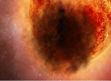 Explosión enorme en estrella Betelgeuse explica extraño oscurecimiento