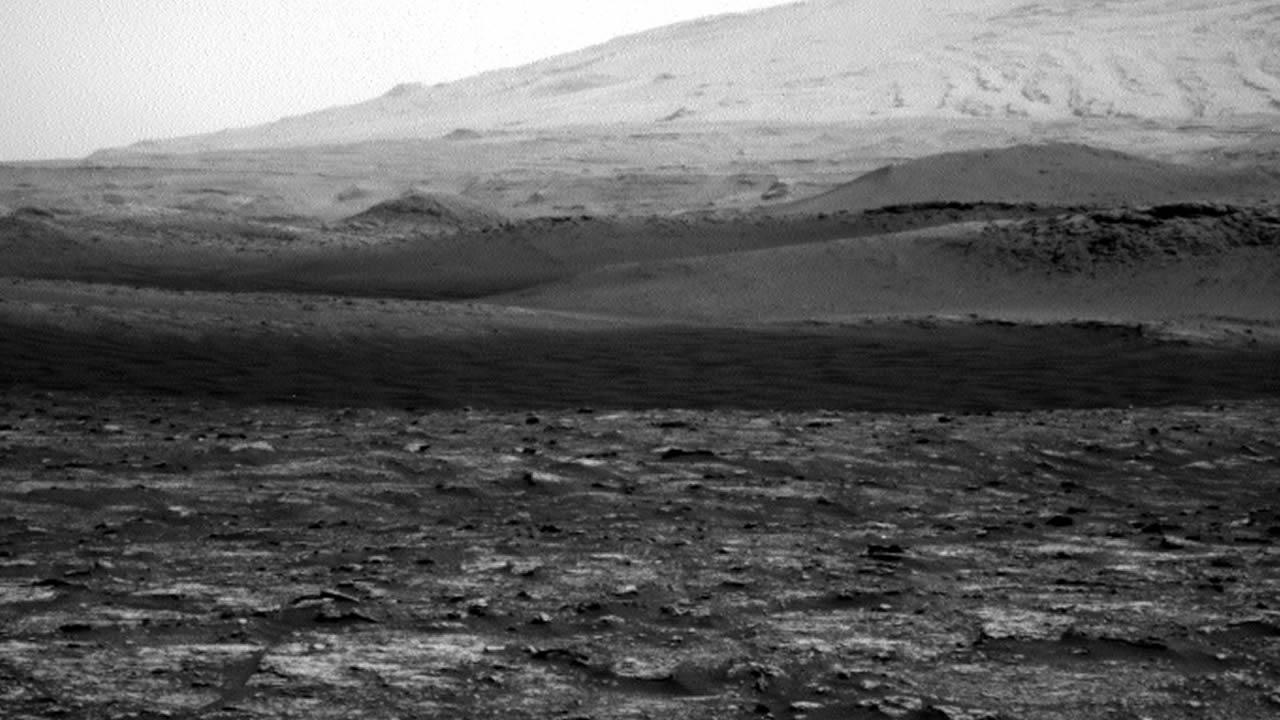 Curiosity observa un diablo de polvo en Marte