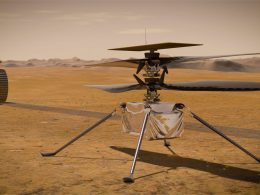 Este es el helicóptero que intentará volar en Marte