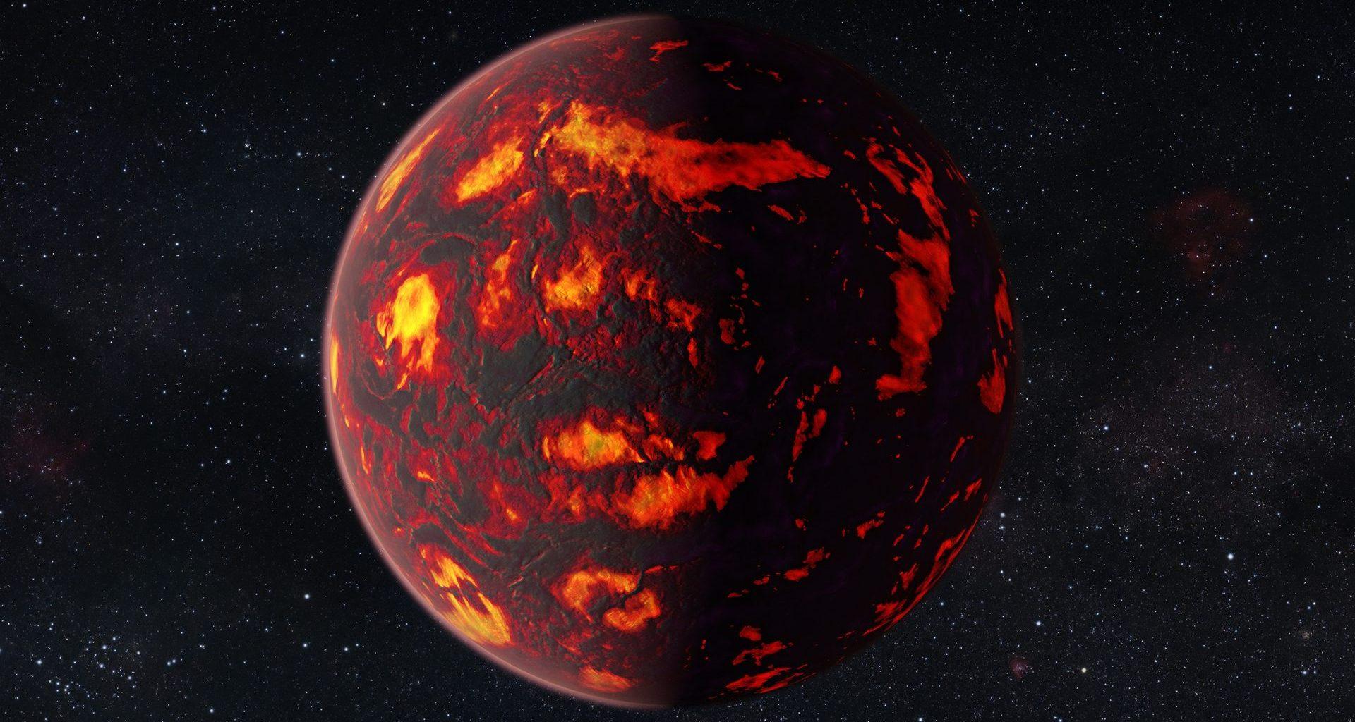 Exoplanetas «supertierras» calientes podrían tener atmósferas metálicas brillantes