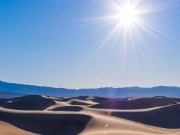 Valle de la Muerte supera los 54.4 grados Celsius estableciendo un posible récord mundial de calor