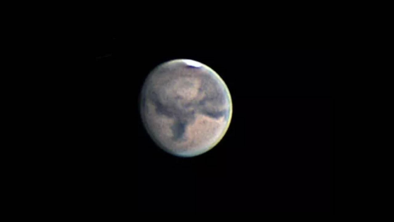 No puedes perderte el brillo de Marte en el cielo de octubre