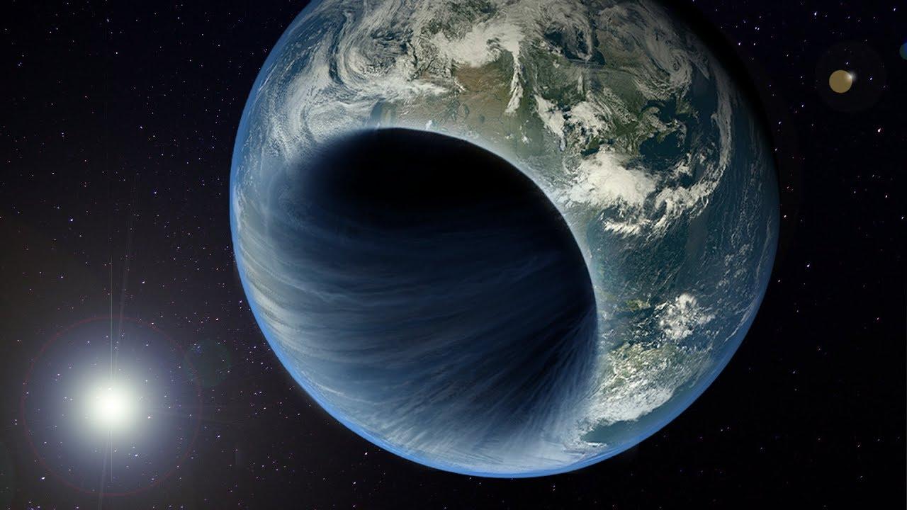 ¿Hay un agujero negro en el centro de la Tierra? Extraños documentos así lo sugieren