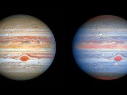Hubble muestra un impresionante retrato de Júpiter y Europa