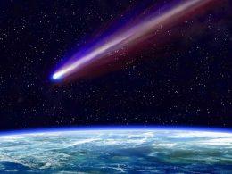 Meteoroide rebota en la atmósfera de la Tierra