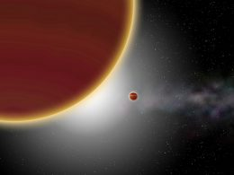 Un exoplaneta a 63 años luz es observado directamente