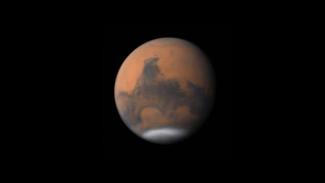 Marte brillará intensamente en el cielo esta noche. Planeta Rojo más cerca de la Tierra en 17 años