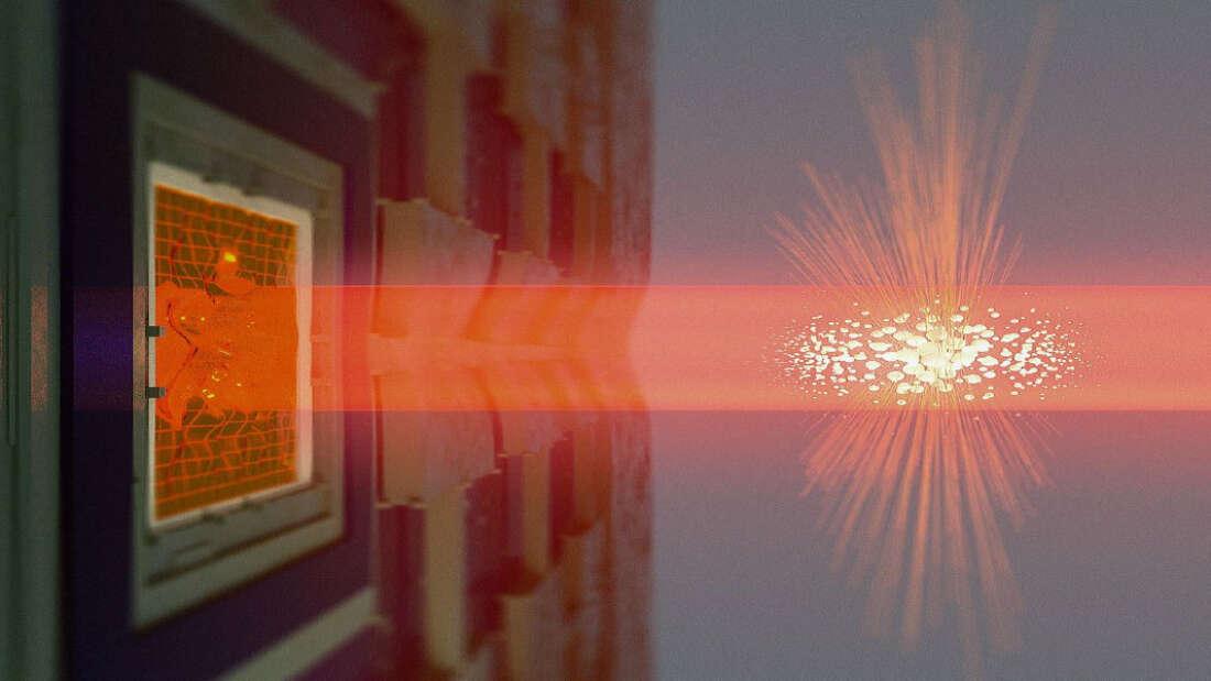 Realizan el primer entrelazamiento cuántico de objetos distantes que es posible ver