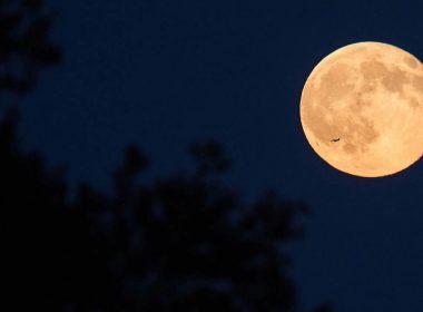 ¡Luna de cosecha 2020 está noche!
