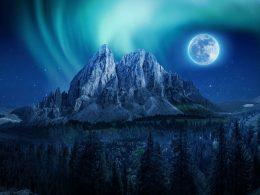 """Espeluznante y rara """"Luna Azul"""" se verá en el cielo en Halloween"""