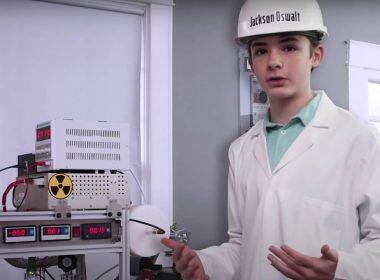 Niño de 12 años construyó un reactor de fusión nuclear y bate un récord