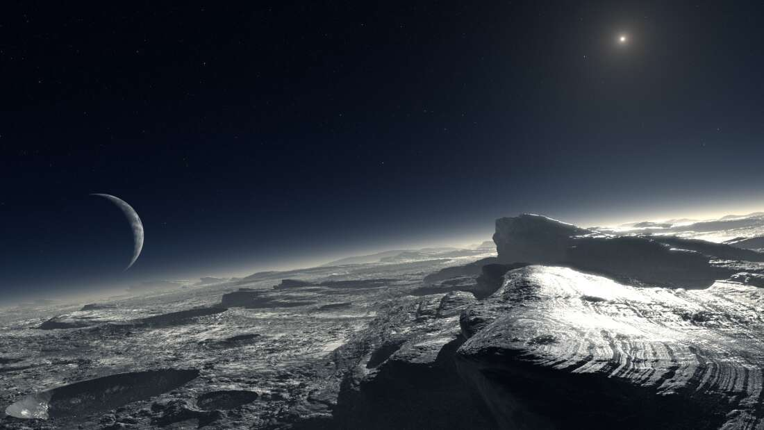 Plutón: Descubren proceso atmosférico nunca antes visto detrás de sus montañas cubiertas de metano