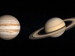Prepárate para la gran conjunción de Júpiter y Saturno