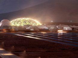 Elon Musk: la primera ciudad de Marte comenzará con cúpulas de vidrio