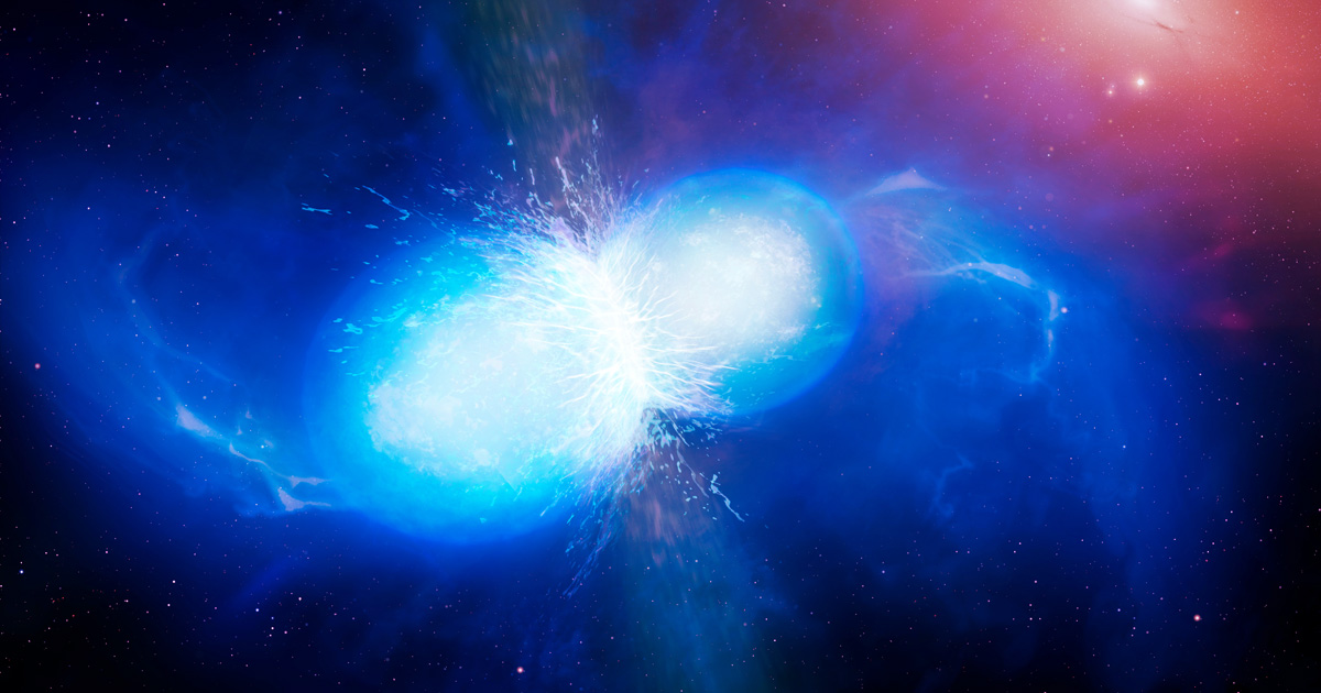 Dos estrellas han chocado entre sí, informan científicos