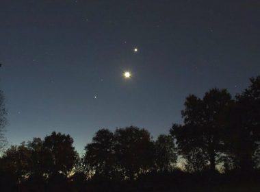 Prepárate para observar a Mercurio debajo de Venus este 10 y 11 de noviembre