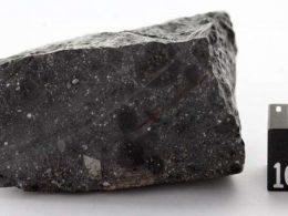 Insólito: descubren cristales dentro de un meteorito que provino de Marte