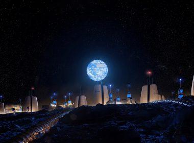 Revelan cómo se vería la primera colonia humana en la Luna (FOTOS)