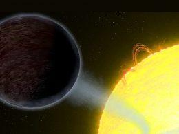 Un exoplaneta se dirige hacia una muerte inminente y ardiente