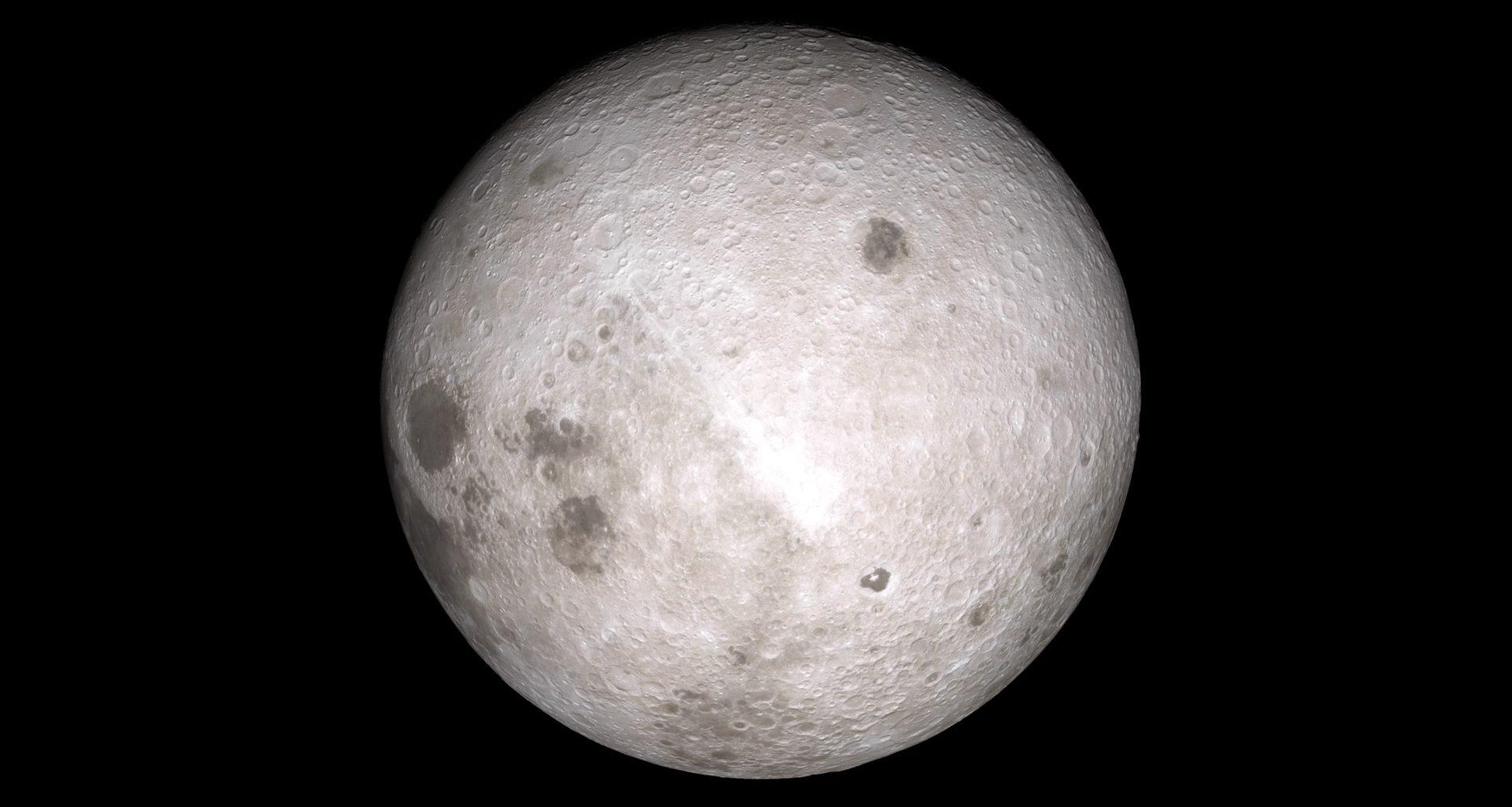 """Lado oculto de la Luna es un """"mundo diferente"""", según nueva investigación"""