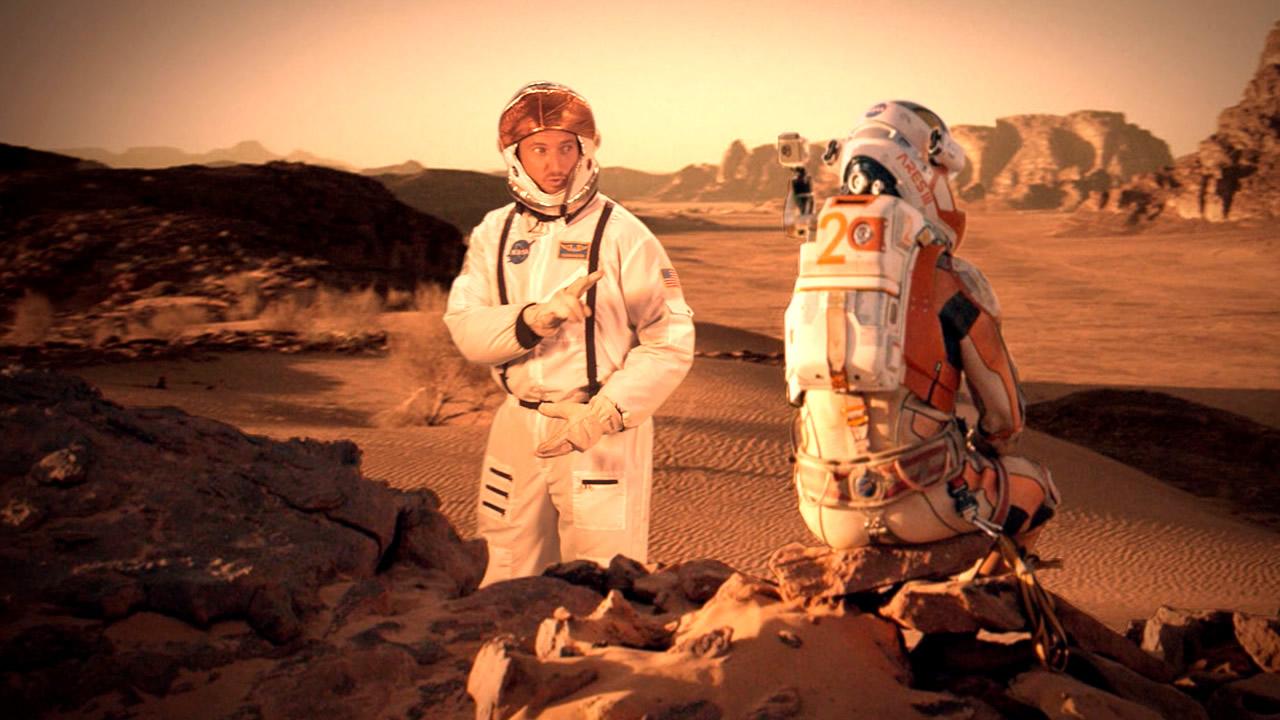 Descubren una forma de producir oxígeno en Marte