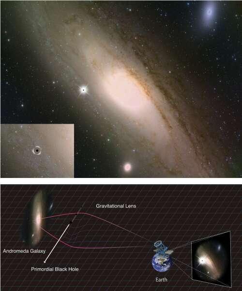 Materia oscura podría estar hecha de agujeros negros primordiales del multiverso