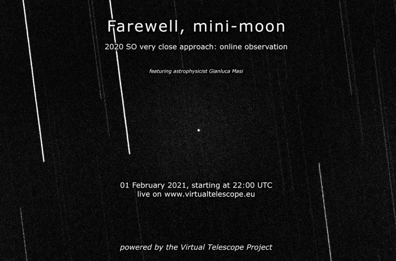 Segunda luna de la Tierra dará una última vuelta antes de irse para siempre