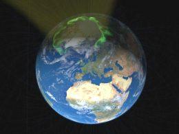 Viento solar se dirige extrañamente hacia el polo norte de la Tierra y los científicos no saben por qué