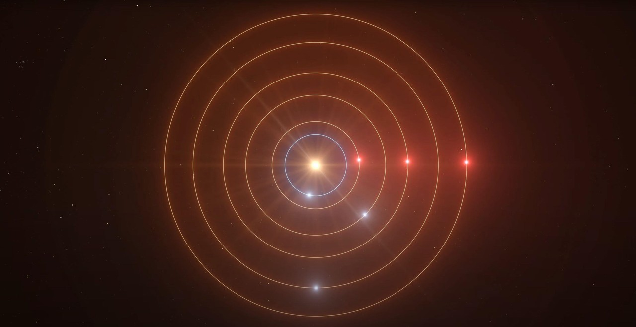 Científicos descubren seis mundos alienígenas orbitando una estrella en extraña y precisa armonía