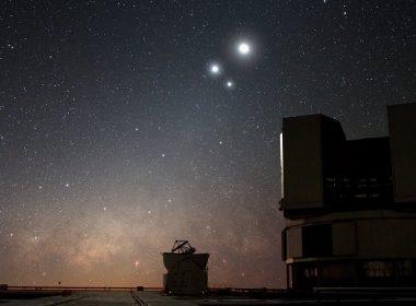 Mira tres planetas en el cielo este fin de semana: Mercurio, Júpiter y Saturno