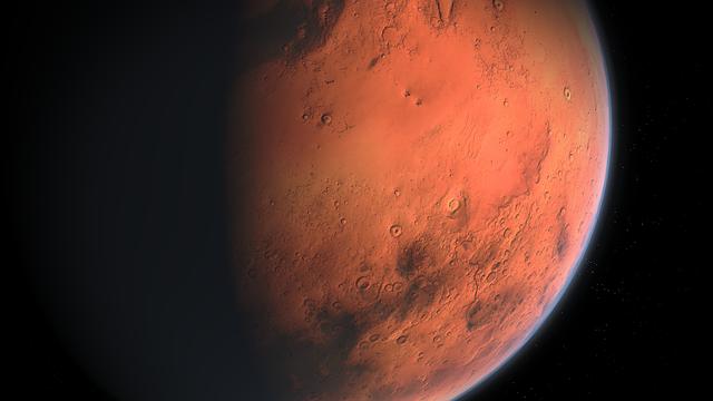 Planeta Marte está irradiando ondas de gravedad