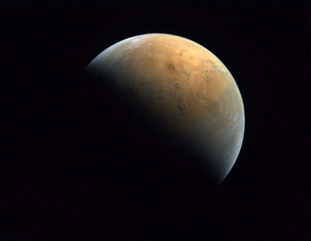 La primera imagen de Marte