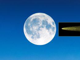 La Luna tiene una cola enorme invisible al ojo humano, ¡como un cometa!
