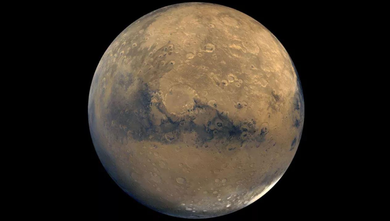 Océanos ocultos bajo la corteza de Marte, argumenta un nuevo estudio