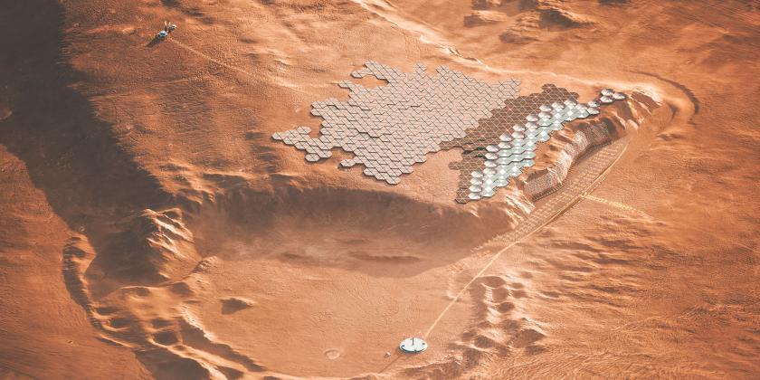 Nüwa, la primera ciudad sostenible en Marte