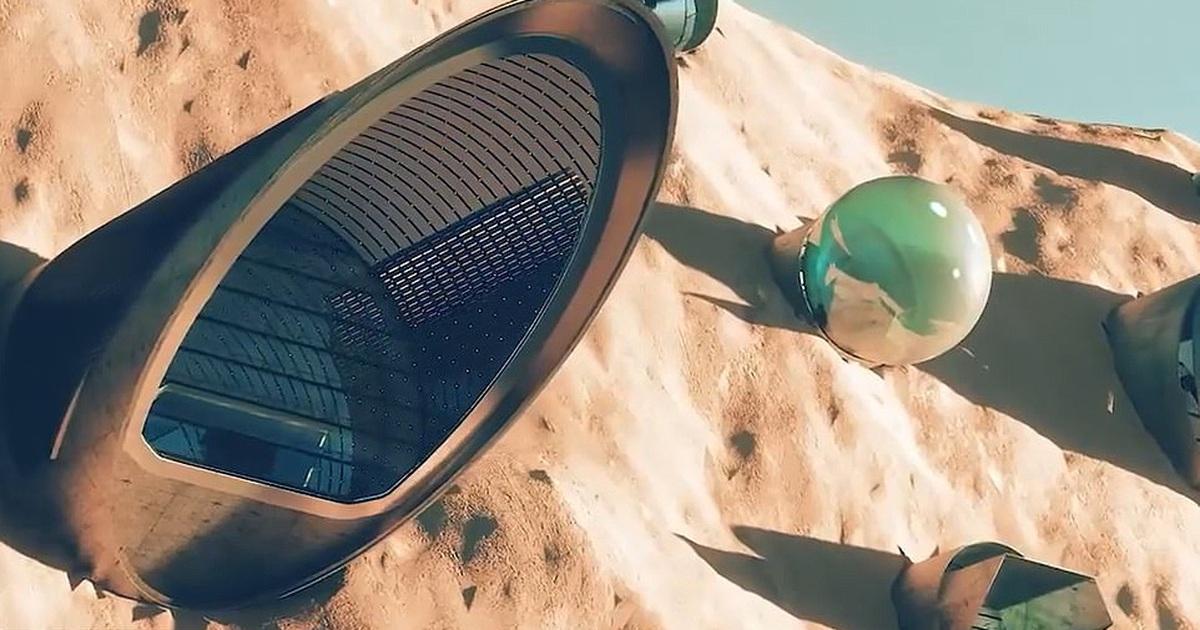 Revelan planes para la primera ciudad sostenible en Marte