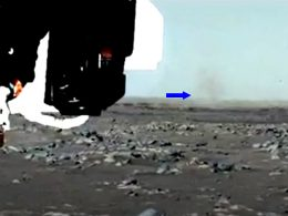"""Rover Perseverance detecta su primer """"demonio de polvo"""" en Marte"""