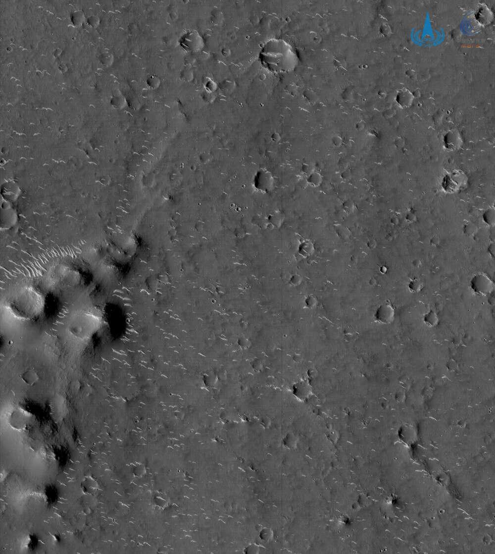 Primeras fotografías de Marte de la misión Tianwen-1