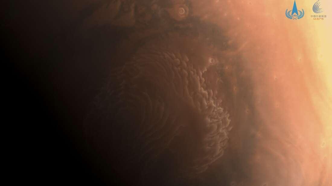 Tianwen-1 de China envía las primeras imágenes increíbles de Marte en alta resolución