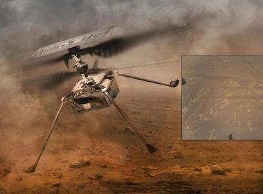 Ingenuity toma épica foto de las huellas de Perseverance en Marte, y se prepara para su tercer vuelo