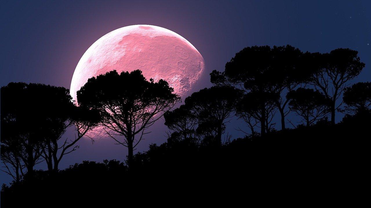 Superluna rosa iluminará la noche de este lunes 26 de abril