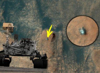 Desde la órbita de Marte: Observan a Curiosity escalando el monte Mercou en el cráter Gale