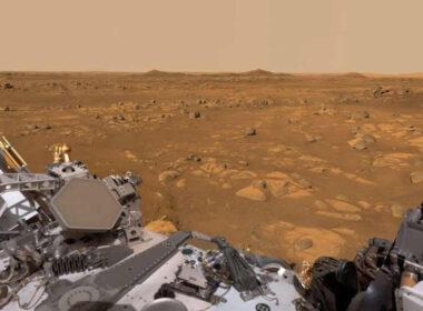 ¡Como si estuvieras en Marte! Perverance captura video panorámico 360° con sonido