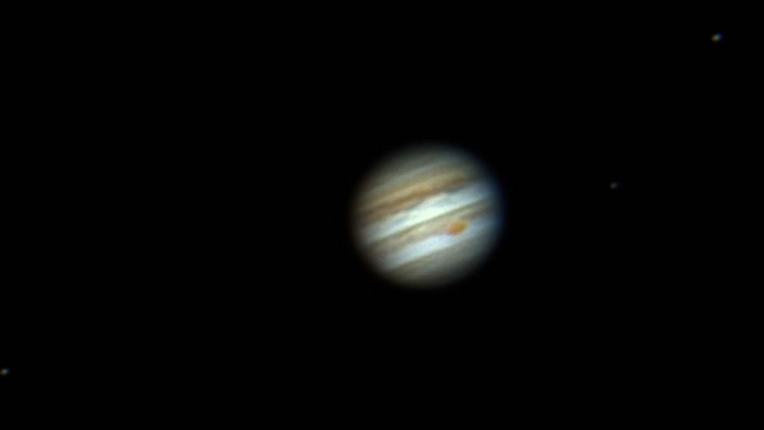 Júpiter se verá más grande y brillante esta semana ¡junto a la Luna!